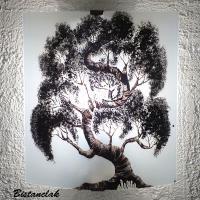 applique motif bonsaï