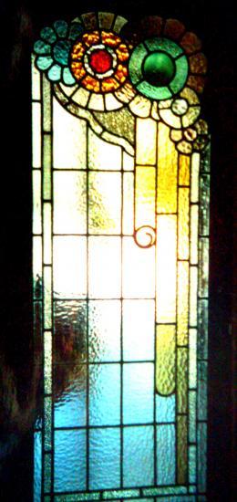 Fabrication vitrail tendance art deco pour porte int rieure for Vitraux decoration interieure