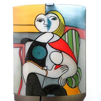 Mr & Mme Decaux appliques Picasso