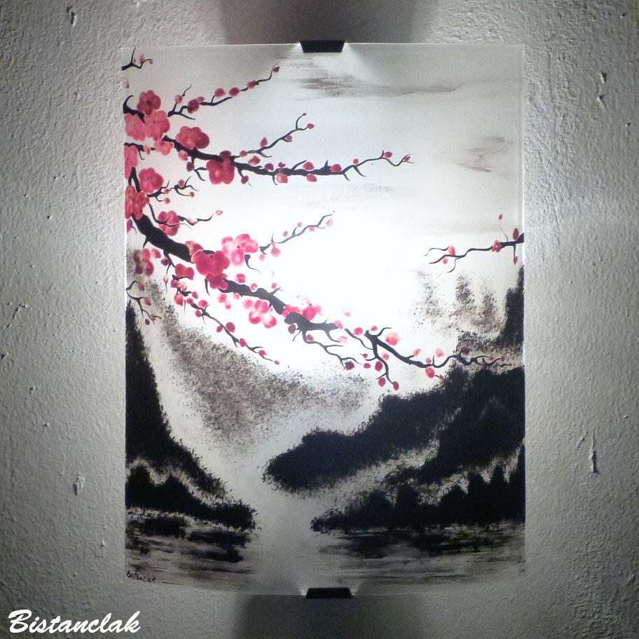 Am vr fleur cerisier hauteur 30 cm