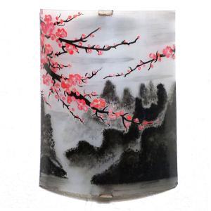 Applique d'ambiance motif paysage japonisant