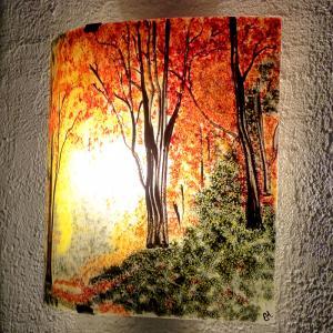 Applique d ambiance clairiere d automne 1