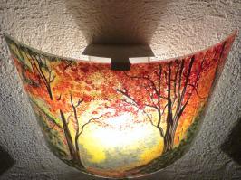 Applique d ambiance clairiere d automne 2