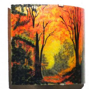 Applique d ambiance clairiere d automne