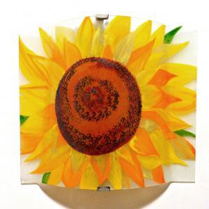 Applique d ambiance decorative motif fleur de tournesol 2