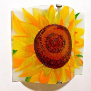 Applique d ambiance decorative motif fleur de tournesol 4