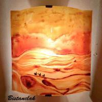 Applique d ambiance motif paysage du desert