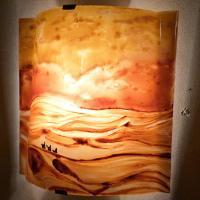 Applique d ambiance motif paysage du desert 2