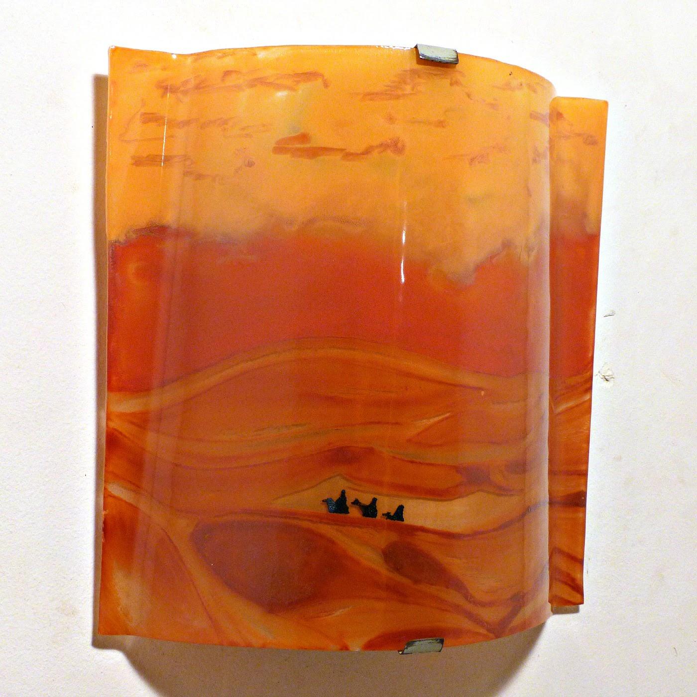 Applique d ambiance motif paysage du desert 5