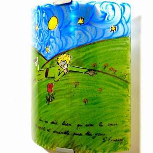 Applique murale artisanale fantaisie motif le petit prince de st exupery 11
