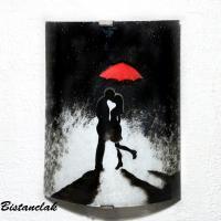 Applique murale au dessin romantique une création artisanale française