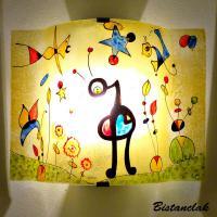 Applique décorative motif le grand jardin de miro