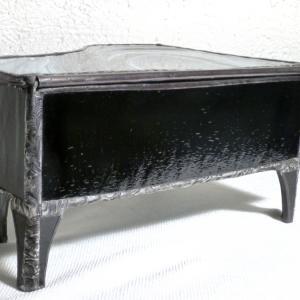 Boite vitrail piano detail 3