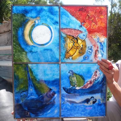 Vitrail chagall