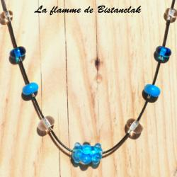 Collier perle virus truquoise 4