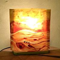 Lampe décorative motif paysage du désert