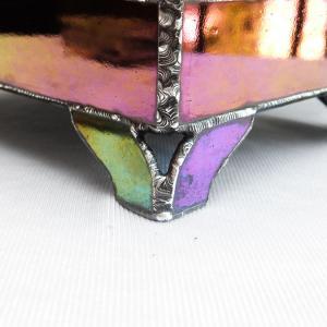 Detail pied boite coffre