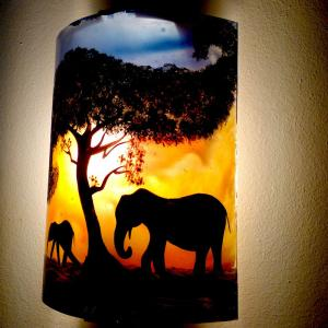 applique éléphant