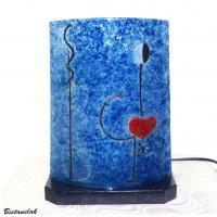 Lampe a poser bleu la danseuse de miro