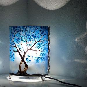 Lampe arbre bleu5