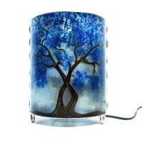 Lampe arbre bleu6