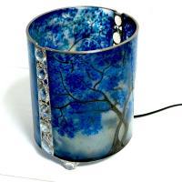 Lampe arbre bleu8