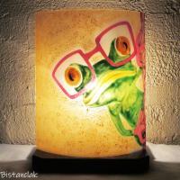 Lampe artisanale fantaisie motif grenouille