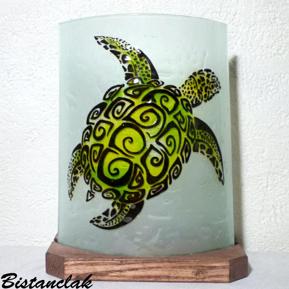 Lampe d'ambiance décorative motif tortue