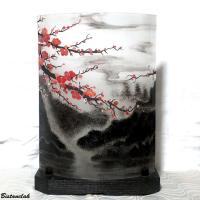 Lampe motif cerisier du japon 2