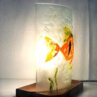 Lampe poisson orange2