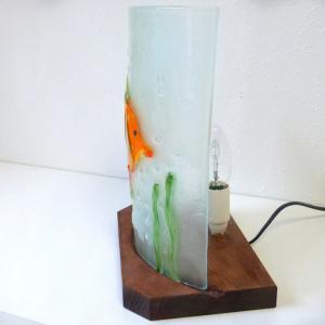 Lampe poisson orange4