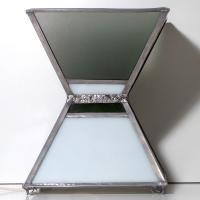Lampe vitrail forme géométrique