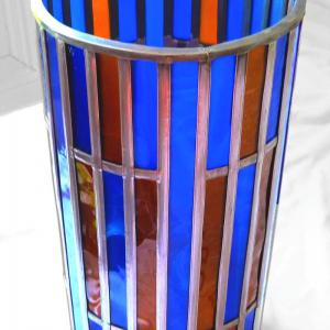 Lmape vitrail bleu et ambre2