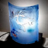 Ls vr tete cheval bleu