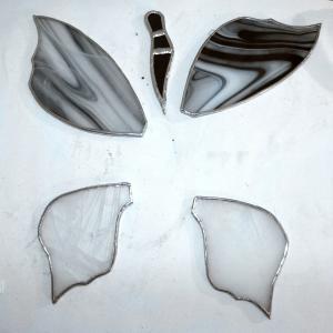 Papillon serti de cuivre