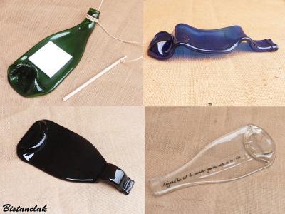 Transformation et personnalisation de bouteilles en verre recyclées