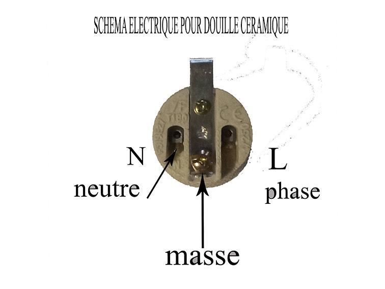 Schema electrique douille