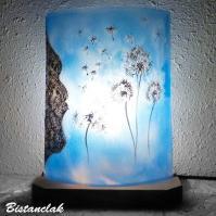 lampe décorative motif pissenlit